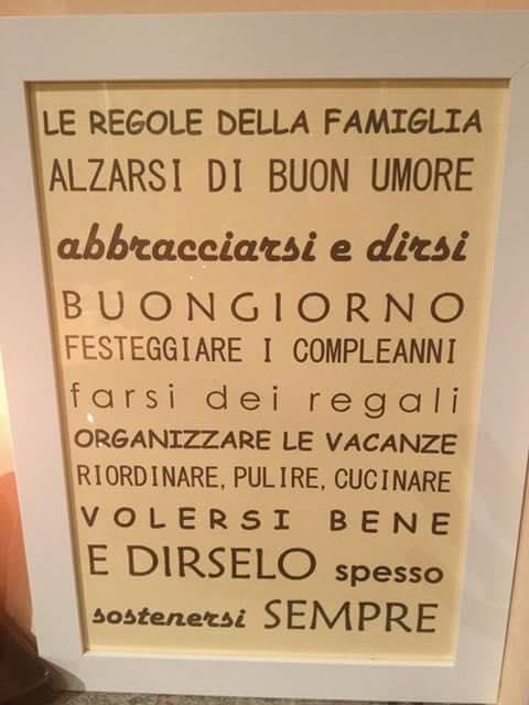Eccezionale Le regole della famiglia - Traduceri Italiana OR02